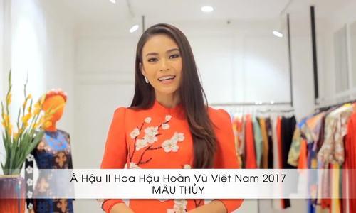 Sao Việt truyền cảm hứng thời trang áo dài Tết