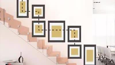 Cách treo khung ảnh