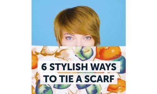 6 cách 'biến' khăn quàng thành món đồ thời trang sành điệu