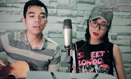 Cặp đôi hát cover Chạy Ngay đi của Sơn Tùng M-TP theo phong cách Aucoustic