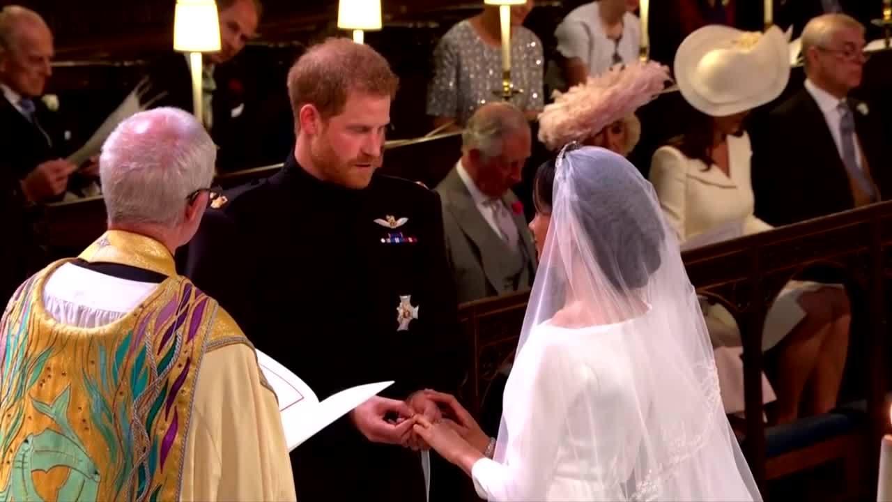 Những khoảnh khắc quan trọng trong lễ cưới Hoàng tử Harry