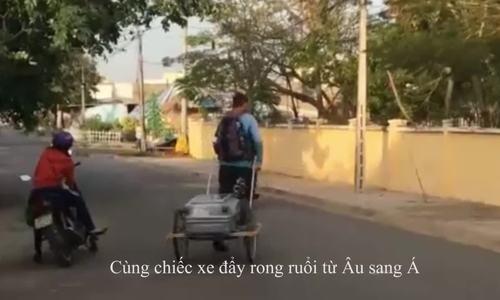 Chàng trai Đức đi bộ vòng quanh thế giới