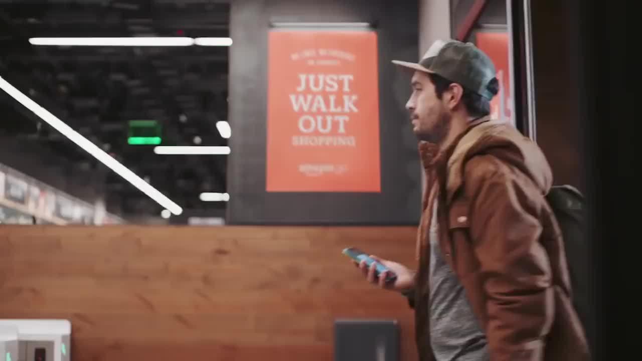 Siêu thị 'không thu ngân' tính tiền bằng camera của Amazon