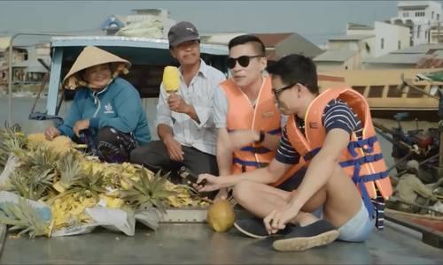 Adrian Anh Tuấn du lịch Cần Thơ