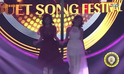 Hoàng Yến Chibi hát ca khúc Yêu cùng Thùy Giang
