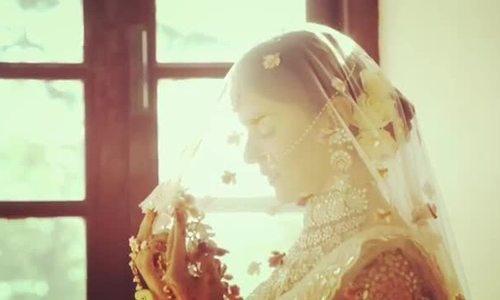 Đám cưới 'cổ tích' của mỹ nhân 'Hai số phận' Rubina Dilaik
