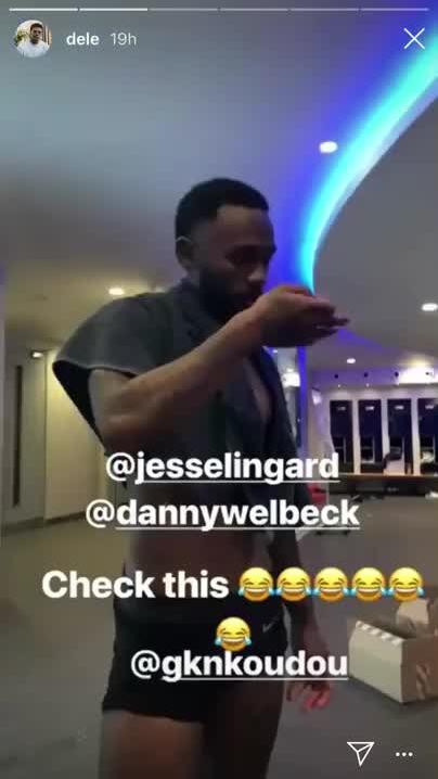 Giới cầu thủ chật vật bắt chước động tác ăn mừng của Dele