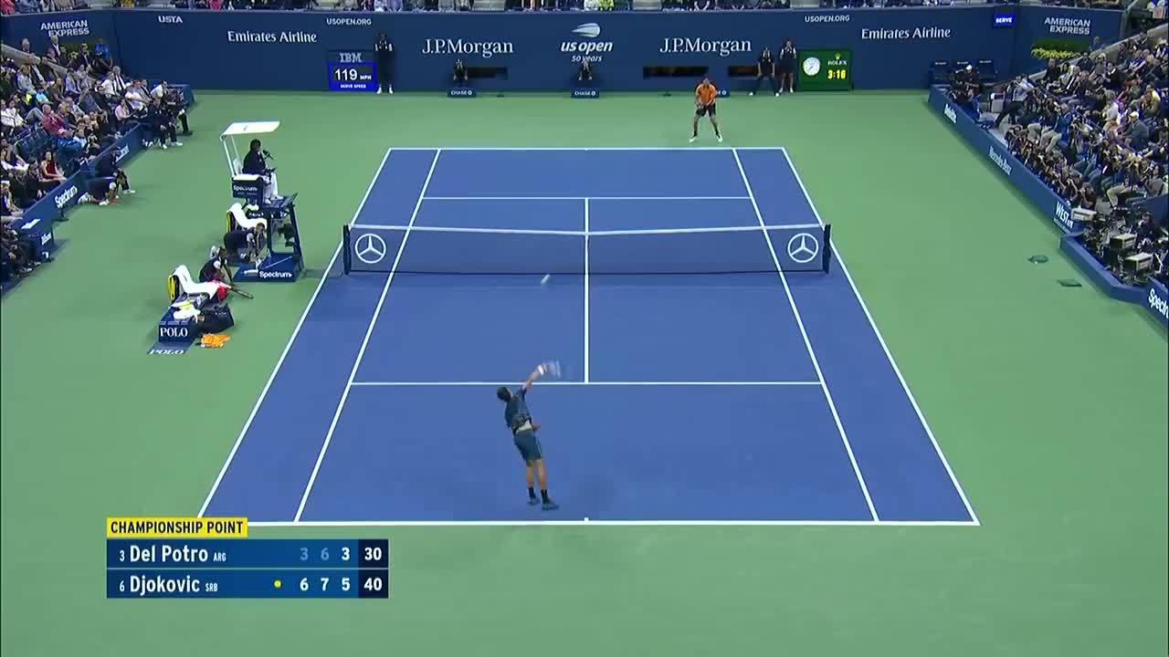Djokovic vứt vợt, nằm vật ra sân sau cú đánh quyết định chức vô địch Mỹ mở rộng
