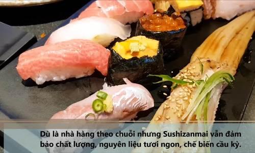 Tiệm sushi mở 24h nhưng khách vẫn phải xếp hàng 'rồng rắn' ở Nhật