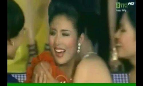 Khoảnh khắc đăng quang của Hoa hậu Ngọc Hân