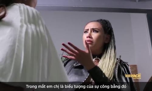 Võ Hoàng Yến đập bàn khi Thanh Hằng loại Huy Quang