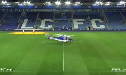Trực thăng của Chủ tịch Leicester City rơi ngay sau khi cất cánh