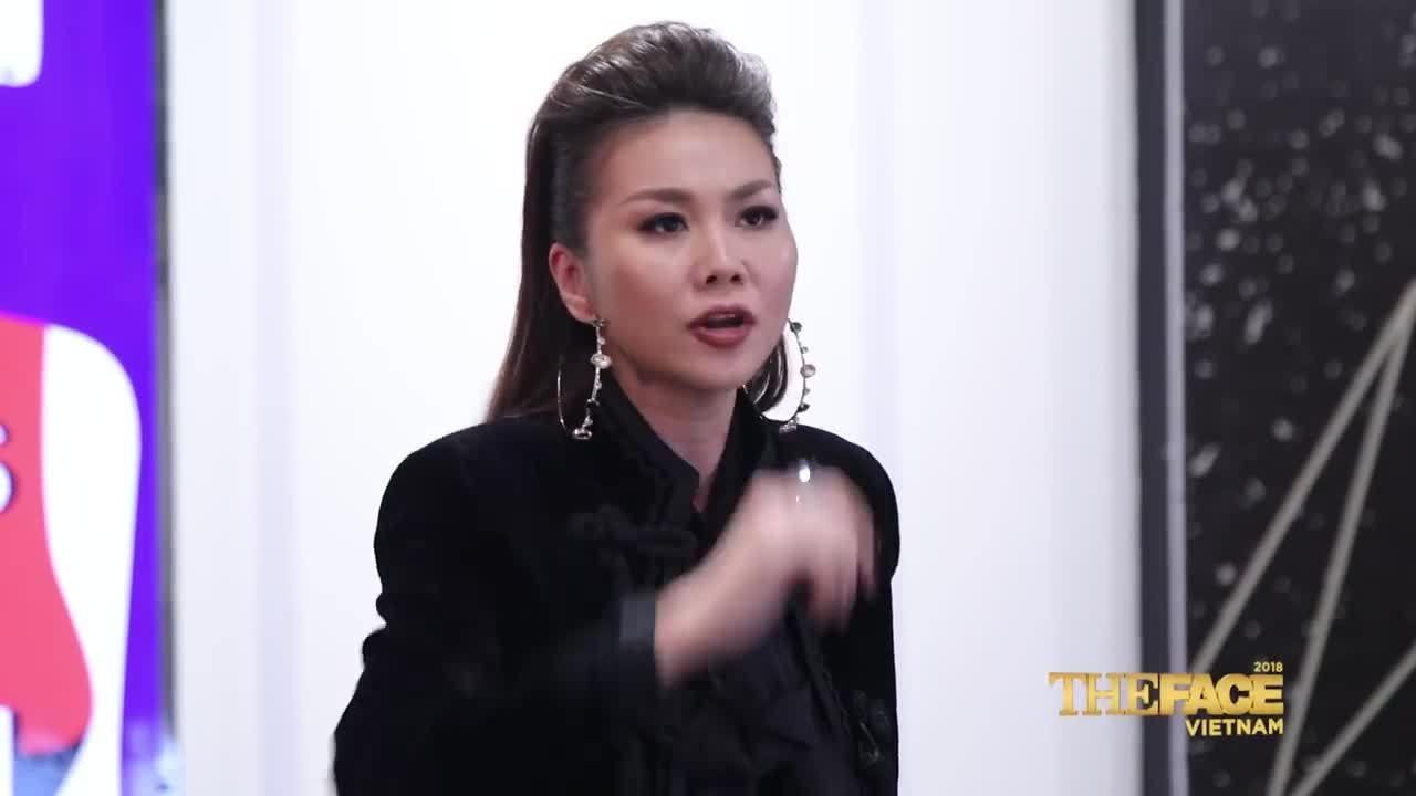 Thanh Hằng quát mắng học trò Võ Hoàng Yến