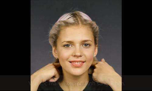 6 kiểu biến tấu đơn giản cho nàng tóc ngắn 'đổi gió'