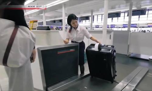 Quy trình để hành lý 'không bao giờ đi lạc' tại sân bay Nhật Bản
