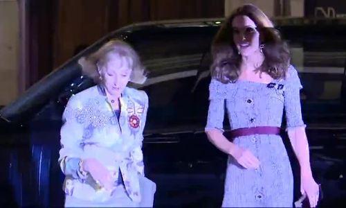 Kate tái xuất sau khi sinh con thứ ba