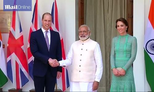 William - Kate công du ở Ấn Độ và Bhutan