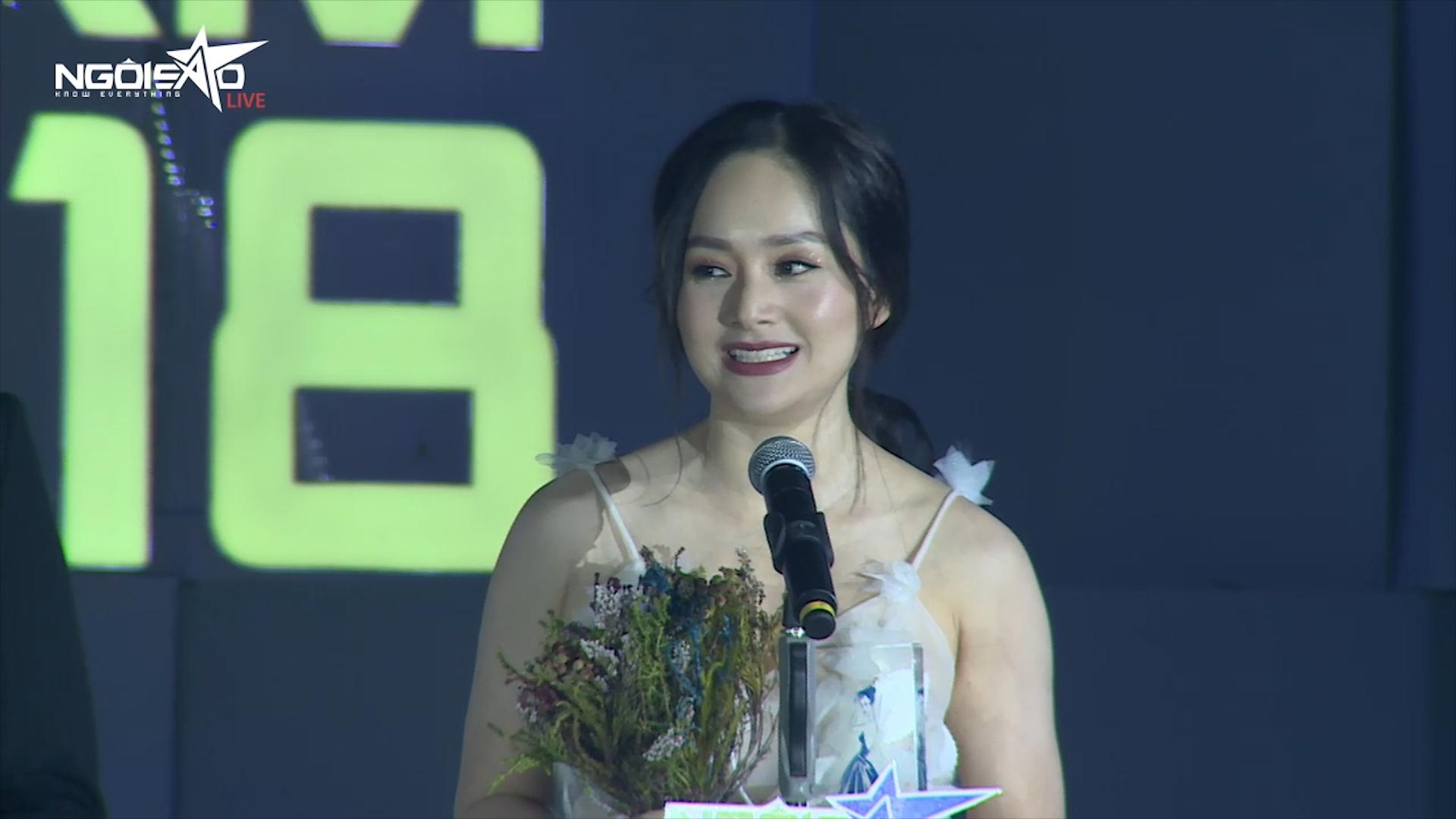 Lan Phương thắng giải Phim ảnh