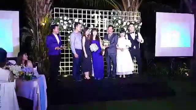 Dàn nghệ sĩ dự tiệc cưới của Trương Nam Thành và nữ đại gia tại TP HCM