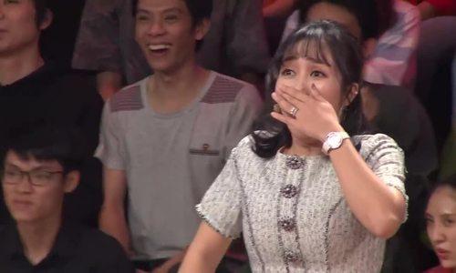 Ốc Thanh Vân hú hét phấn khích khi thấy Đan Trường ở show truyền hình