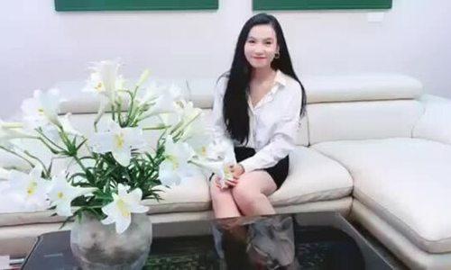 Lương Giang chúc mừng sinh nhật Ngoisao.net