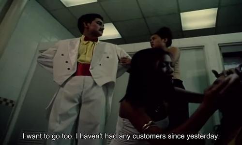 Anh Vũ trong phim Gái nhảy