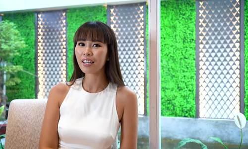 Hà Anh chúc mừng sinh nhật báo ngoisao.net