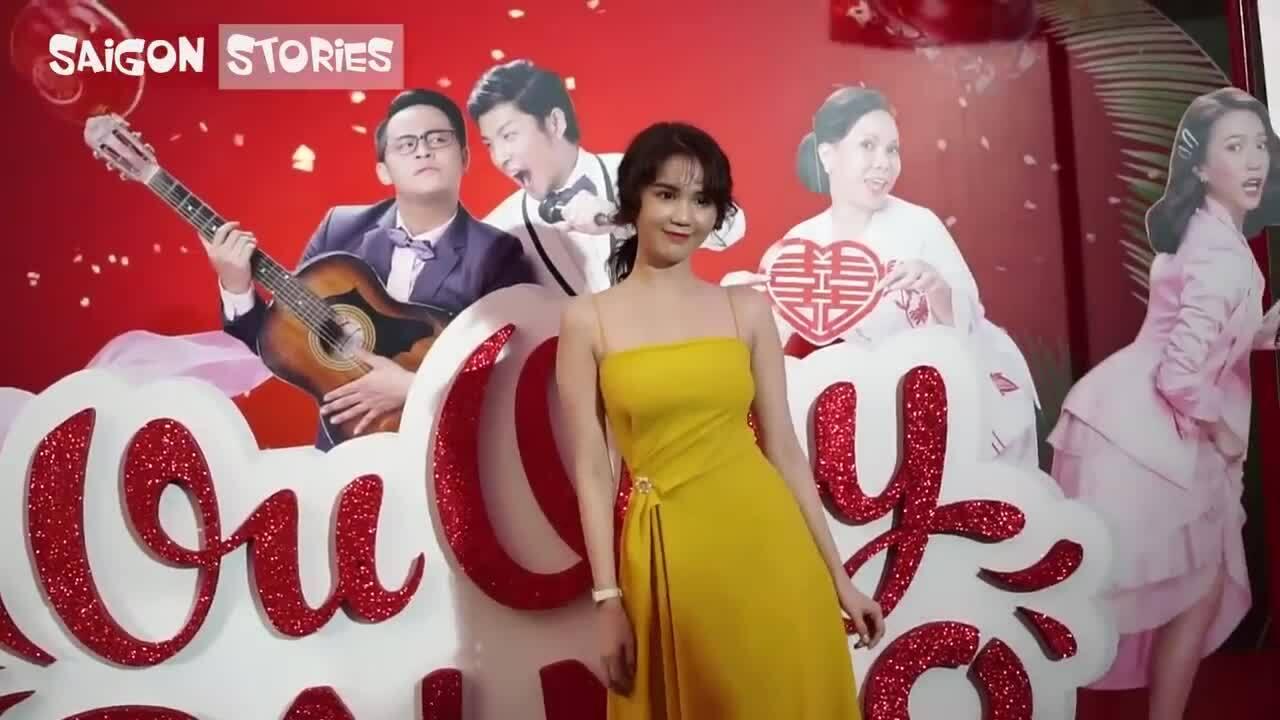 Ngọc Trinh tại buổi ra mắt phim 'Vu quy đại náo'