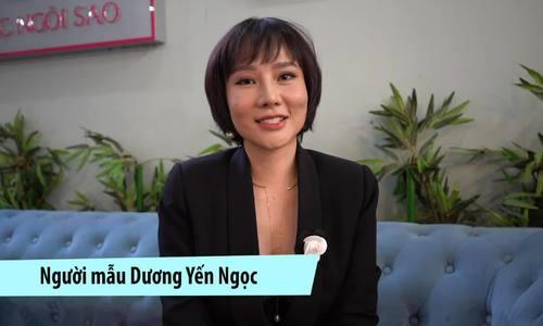 Dương Yến Ngọc không buồn về tin tiêu cực về mình trên Ngoisao.net