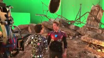 BTS SpiderMan gặp lại Iron Man Endgame