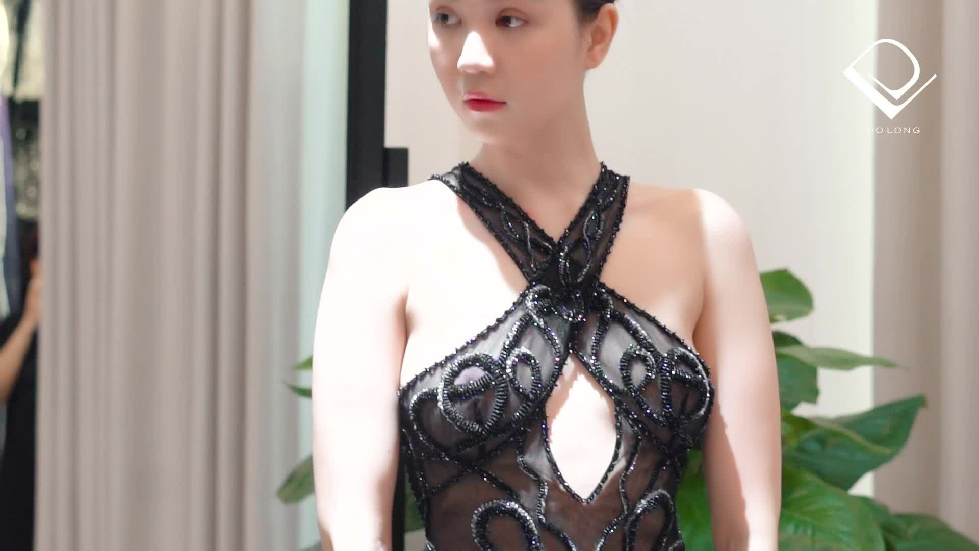 Ngọc Trinh thử đồ dự Cannes