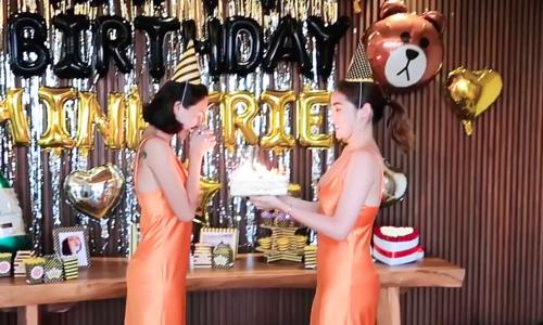 Minh Triệu nũng nịu khi được Kỳ Duyên tổ chức sinh nhật