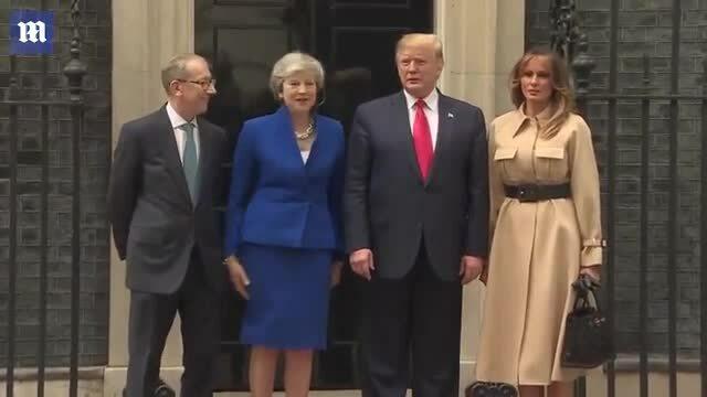 Vợ chồng tổng thống Mỹ gặp vợ chồng thủ tướng Anh