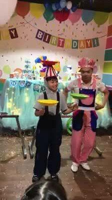 Cường Đôla - Hà Hồ đoàn tụ trong sinh nhật con trai