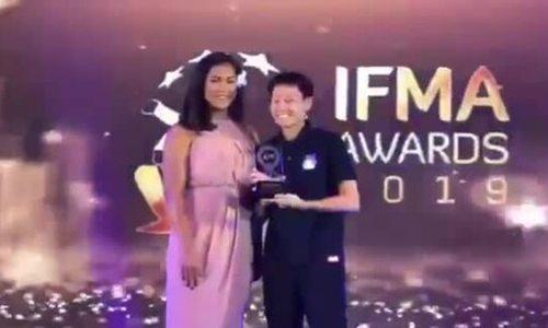 Bùi Yến Ly nhận giải võ sĩ muay Thái hay nhất thế giới