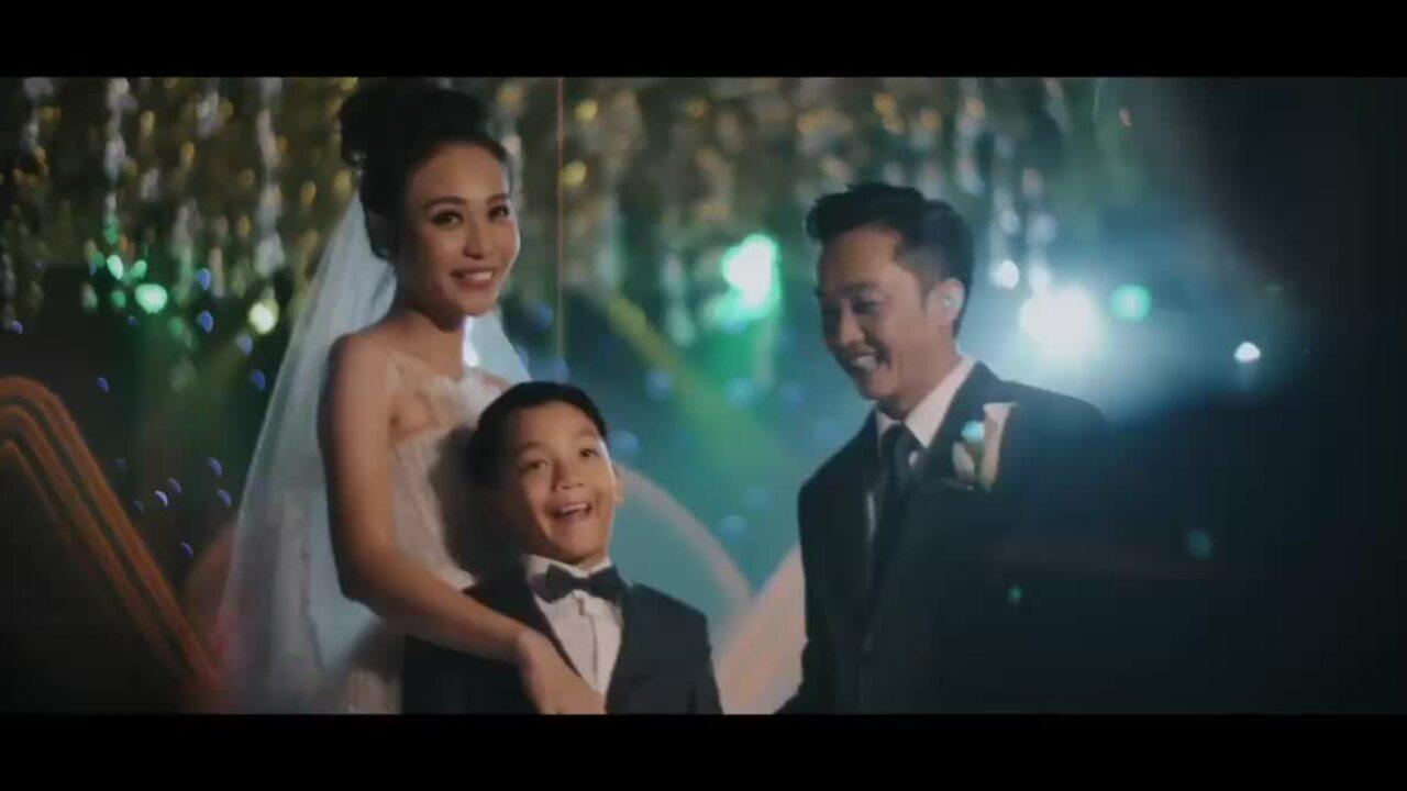Khoảnh khắc đẹp trong đám cưới của Cường Đôla - Đàm Thu Trang