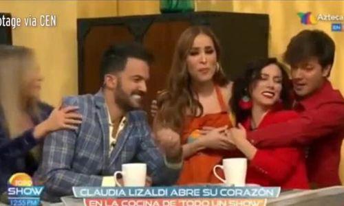 Người dẫn chương trình Mexico sờ ngực nữ đồng nghiệp trên bản tin trực tiếp