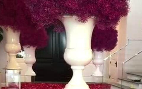 Bạn trai trải hoa hồng đầy nhà mừng sinh nhật Kylie Jenner