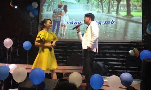 Bảo Thanh, Quốc Trường song ca 'Cơn mưa tình yêu'