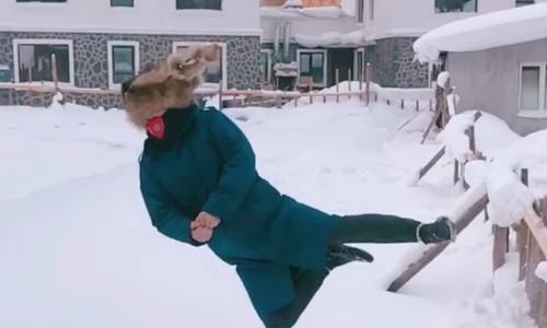 Làng tuyết của ông già Noel ở Trung Quốc