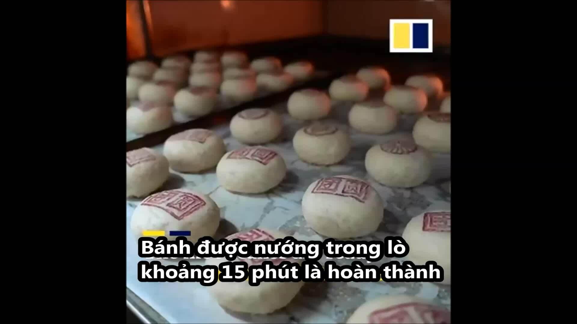 Bánh trung thu trắng đặc sản Bắc Kinh