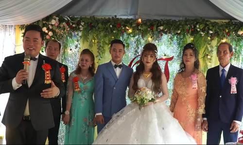 Đám cưới con trai nuôi của Quang Lê