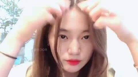 Mẹo sấy tóc mái bồng bềnh như gái Hàn