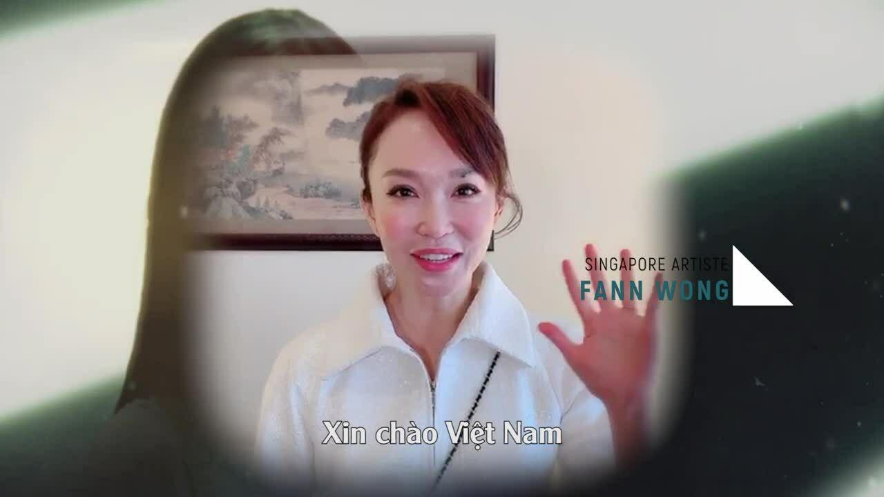 Phạm Văn Phương gửi lời chào khán giả Việt Nam