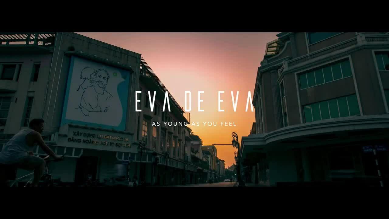 Helly Tống xuống phố catwalk bộ sưu tập mới của Eva de Eva