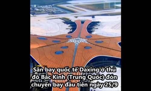 Sân bay sao biển khổng lồ ở Trung Quốc