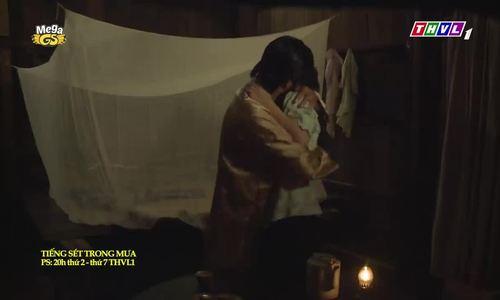 Cảnh hôn Oanh Kiều - Quốc Huy phim Tiếng sét trong mưa