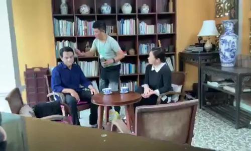 Cao Minh Đạt gặp lại Nhật Kim Anh ở phim Vua bánh mỳ