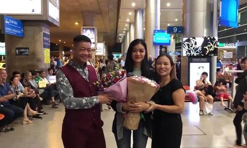 Kiều Loan về Việt Nam sau thi Miss Grand