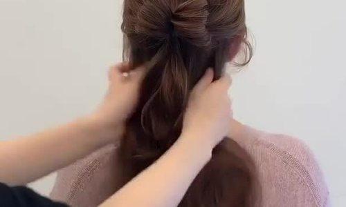 Biến tấu đơn giản giúp mái tóc bớt đơn điệu